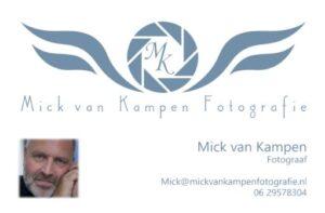 Hartelijk bedankt Mick voor de mooie foto's